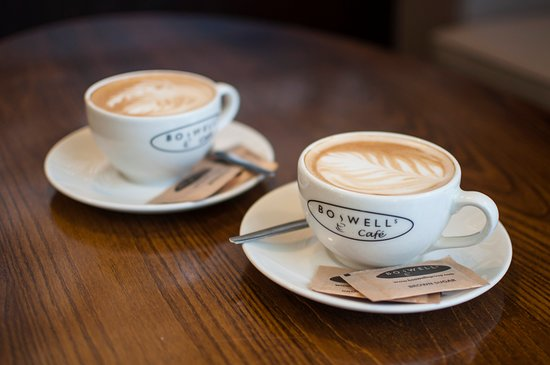 Boswells Cafe: Delicious coffee
