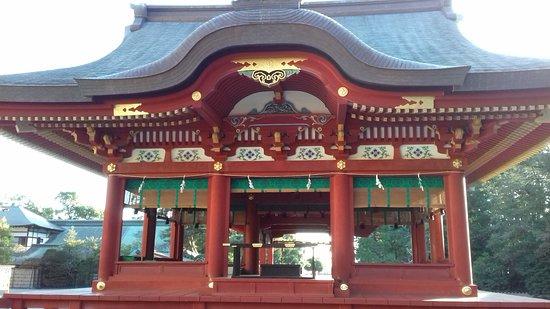 Tsurugaoka Hachimangu Shrine: lower worship hall