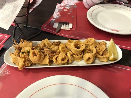 Restaurante Las 4 Estaciones: calamares