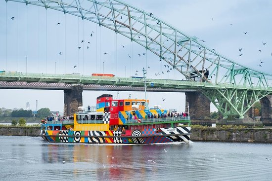 ‪Manchester Ship Canal Cruise Mersey Ferries‬