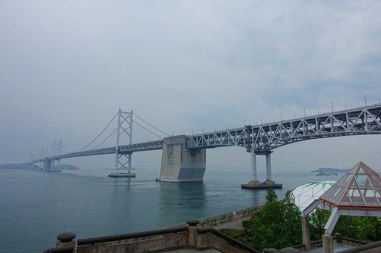 Michi-no-Eki Seto Ohashi Memorial Park: 上の階からの眺め