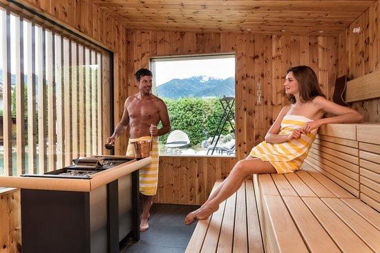 Hotel Sun: Outdoor Sauna