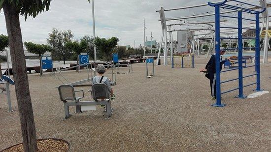 Parque del Agua: Parque de Mayores.