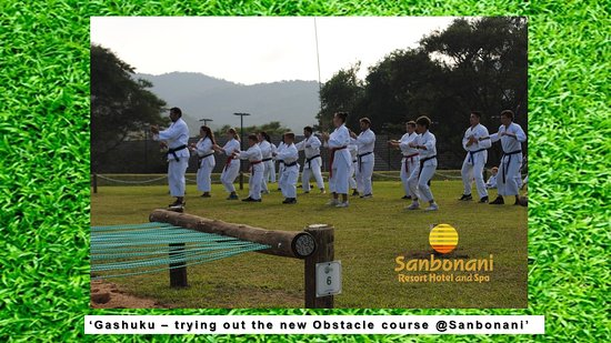 New Obstacle course - Picture of Sanbonani Resort, Hazyview
