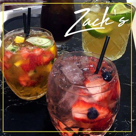 Zack's Toowoomba - Extensive Cocktail Menu