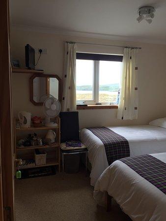 Edinbane, UK: Seaward TWIN with sea view