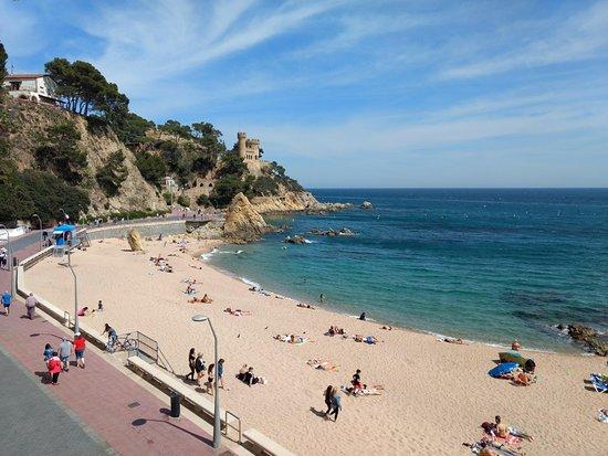 Hotel Rosamar Maxim: bout de plage