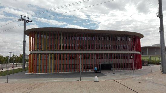 Parque del Agua: Pabellon.