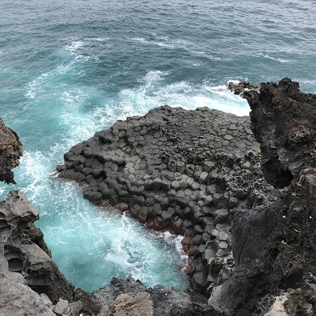 Daepo Haean Jusangjeolli Cliff ภาพถ่าย