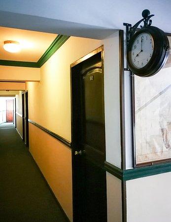 Hotel Sagarnaga: Hallways