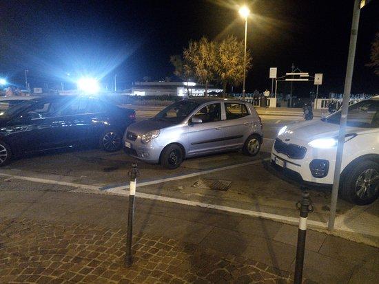 PesceAzzurro Rimini: lungomare dove si parcheggia