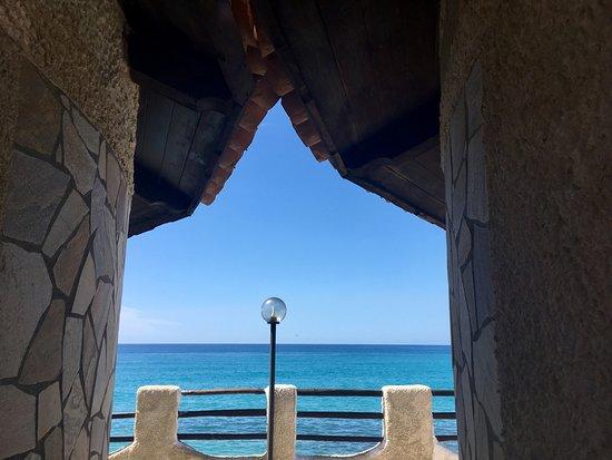 Villaggio Hotel Torre Ruffa: Panorama dalle camere singole Lillà