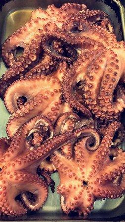Splendor del Mar Beachbar & Restaurant: Octopus