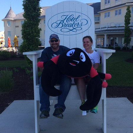 Cedar Point's Hotel Breakers Foto
