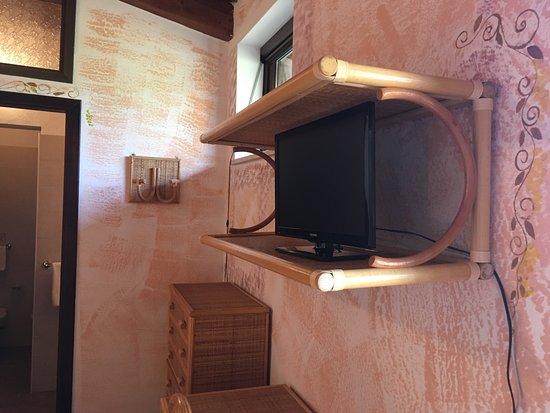 Villaggio Hotel Torre Ruffa: Particolare della camera Mimosa