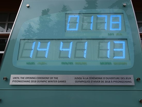 Whistler Olympic Park: The clock that wounded down.
