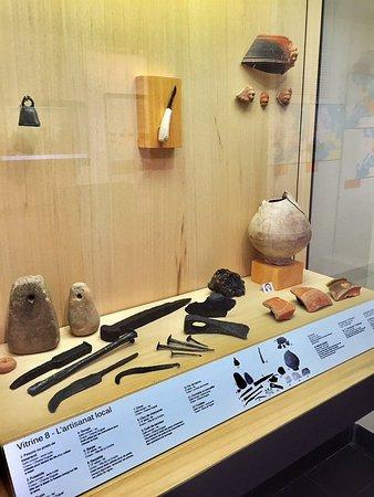 Musée Archeologique de Civaux: Un petit musée très bien conçu