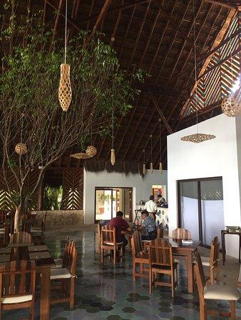 Rancho Encantado: Restaurant ouvert sur le lagon