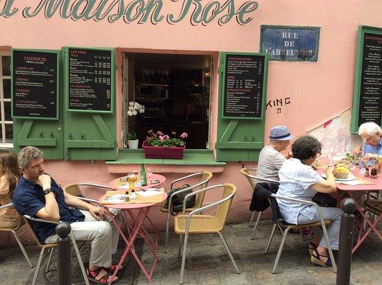 La Maison Rose: Очень приятно посидеть