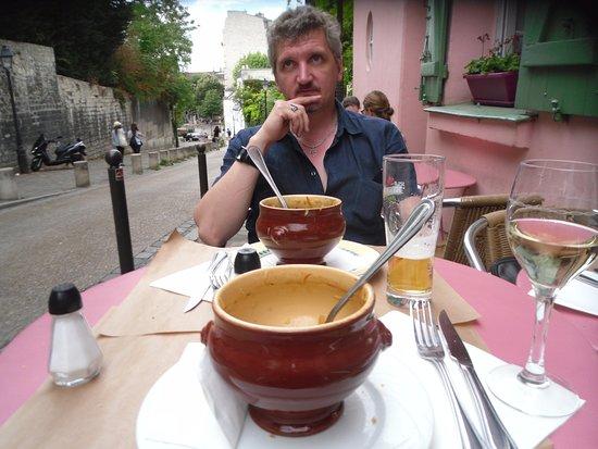 La Maison Rose: Все что осталось от лукового супа