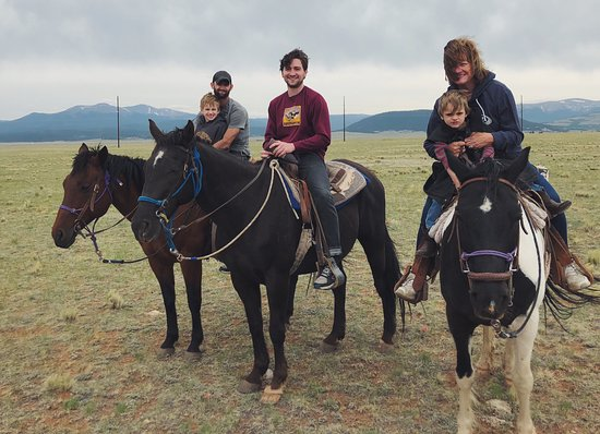 Platte Ranch Riding Stables : Platte Ranch Family Ride