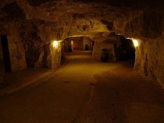 Bourgueil, France : Entrée des Caves