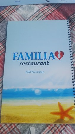 Familia Fish & Grill: En ce moment même....deja venu  Lundi midi ...on y finira surement notre séjour Vendredi soir .