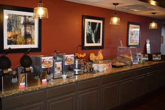 So many options at our daily Breakfast Buffet! - Picture of ...