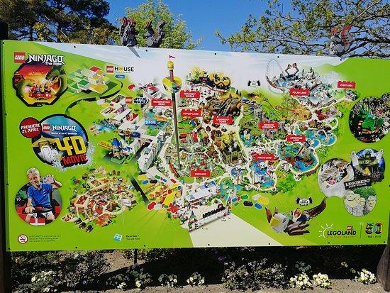 Legoland Map Picture Of Legoland Billund Tripadvisor