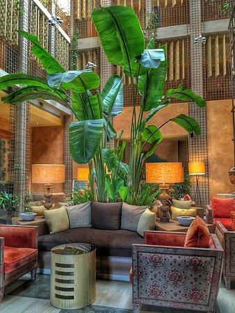 Club Maritimo de Sotogrande: Lobby del hotel