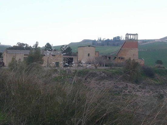Aidone, Italy: Miniera Zolfo Borgo Baccarato
