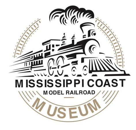 Mississippi Coast Model Railroad Museum: Our new logo - crisp design and looks great on our t-shirts, mugs and magnets!