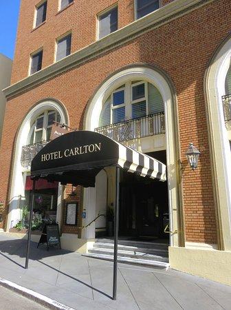 Hotel Carlton, a Joie de Vivre hotel: Hotel Carlton - Sutter Street, San Francisco, USA (05/Jun/18).