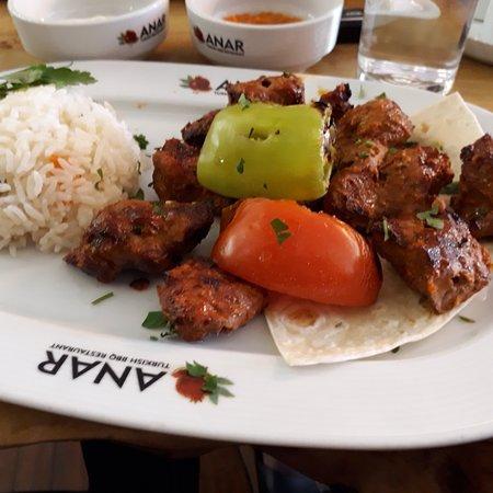 Anar Turkish BBQ Restaurant: Late lunch