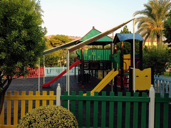Lindos Princess Beach Hotel: a kid's play area
