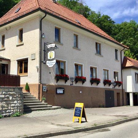 Giengen an der Brenz, Alemanha: Gaststätte an der Charlottenhöhle