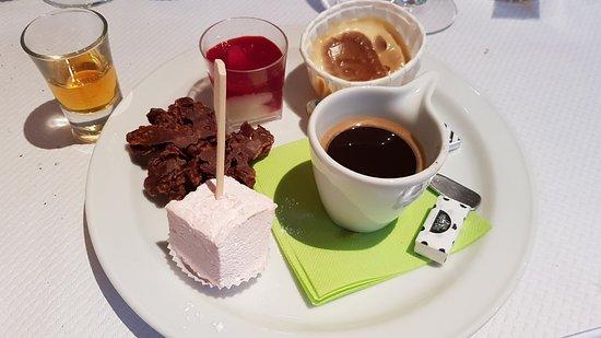 O'Charolais: Café gourmand