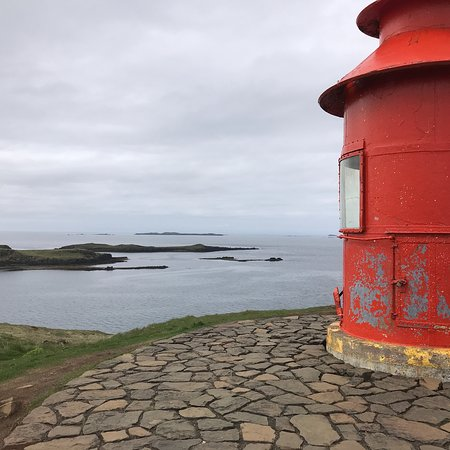 Lighthouse Súgandisey Photo