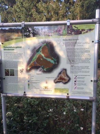 Schonwald, Germany: Blindensee Ausflugsziel