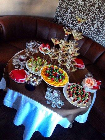 Restaurant Ochag: Фуршет на торжество