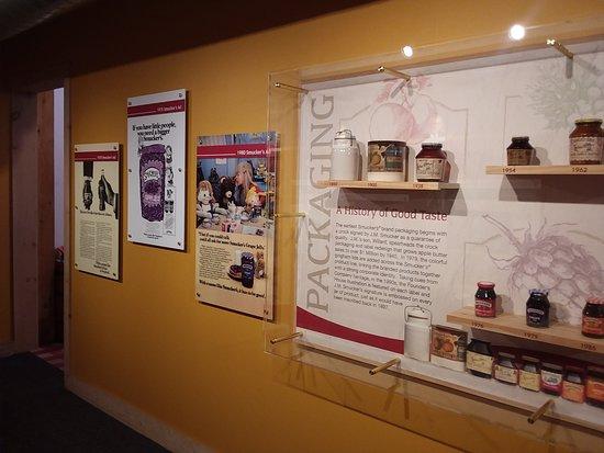 J M Smucker Company, Orrvile Ohio: Timeline display