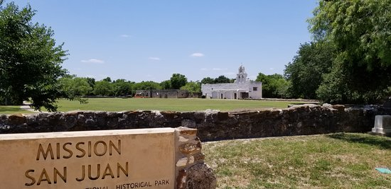 Mission San Juan: View from the parking lot
