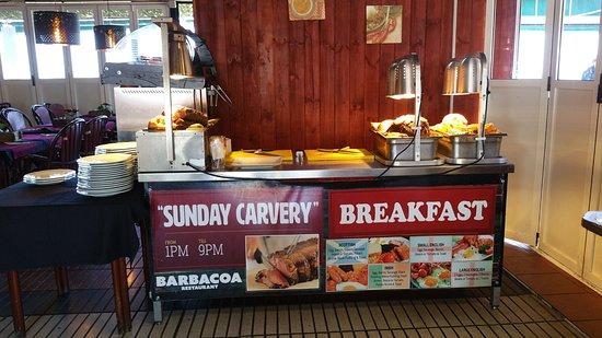 Barbacoa Restaurant & Showbar: Best English Breakfast