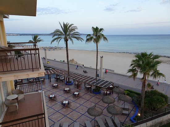 THB El Cid: View from balcony