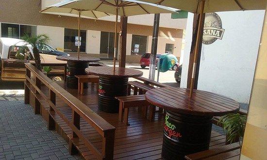 Taco Burger: O melhor espaço aberto de Palmas.