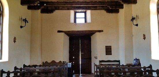 Mission Espada: Inside church