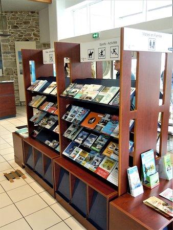 Office de Tourisme de Quiberon : Présentation de la documentation