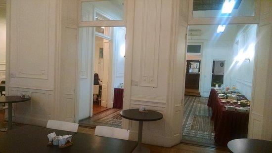 Hotel Mundial: Salão do restaurante