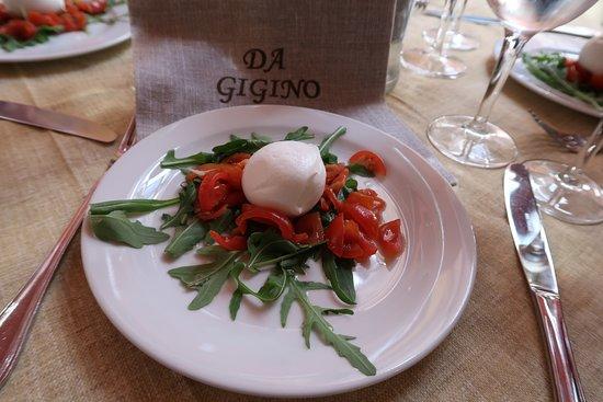 Sorrento Small-Group Food Walking Tour: Caprese salad at Da Gigino