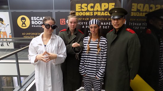 Escape Rooms Prague: 6.6.2018